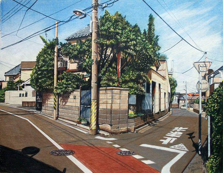 """Al ilustrador japonés Ryota Hayashi le apasiona su ciudad. Con una muy buena técnica de dibujo, Hayashi quiere rendir homenaje a su ciudad Tokio con este set de trabajos a lápiz denominado """"Tokyo Sketch"""". En sus ilustraciones no vais a ver esa Tokio llena de luces y tecnología, sino sus barrios más periféricos, unos barrios tranquilos y llenos de encanto que los que habéis estado en ella, sabréis de lo que hablo."""