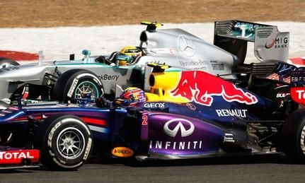 The Formula One circus may not be returning to India in 2014, despite having a contract to run there through 2015.  Ecclestone confirms Indian Grand Prix a longshot to make 2014 F1 schedule >~:> http://www.autoweek.com/article/20130729/f1/130729817