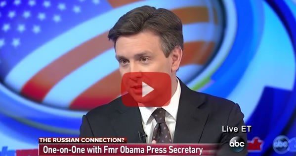 """ABC's Martha Raddatz on Sundayquestioned Josh Earnest as to whether Trump Tower was surveilled by the Obama administration. He deflected and then opted not to categorically""""deny that the Obama J…"""