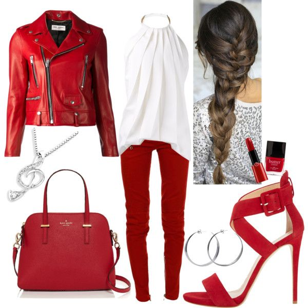 """Red"" by veradediamant on Polyvore"