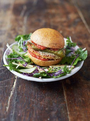 Mega Veggie Tofu Burger | Vegetable Recipes | Jamie Oliver#bVddDOQdpTdCWG16.97#bVddDOQdpTdCWG16.97