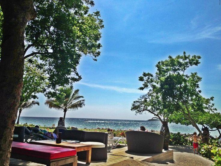 vista de Playa Puntilla desde el Hotel Royal Decameron, Isla Baru. Más en www.facebook.com/dejavutourweb