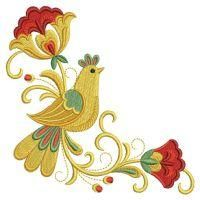 OregonPatchWorks.com - Sets - Russian Folk Art Khokhloma 3