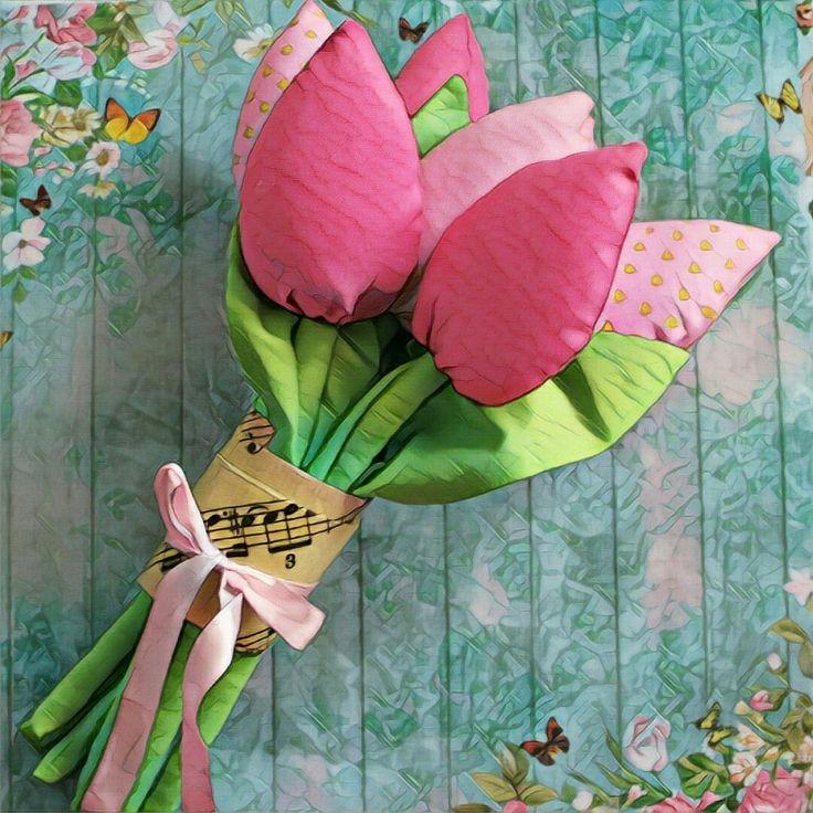 Bouquet of 6 tulips