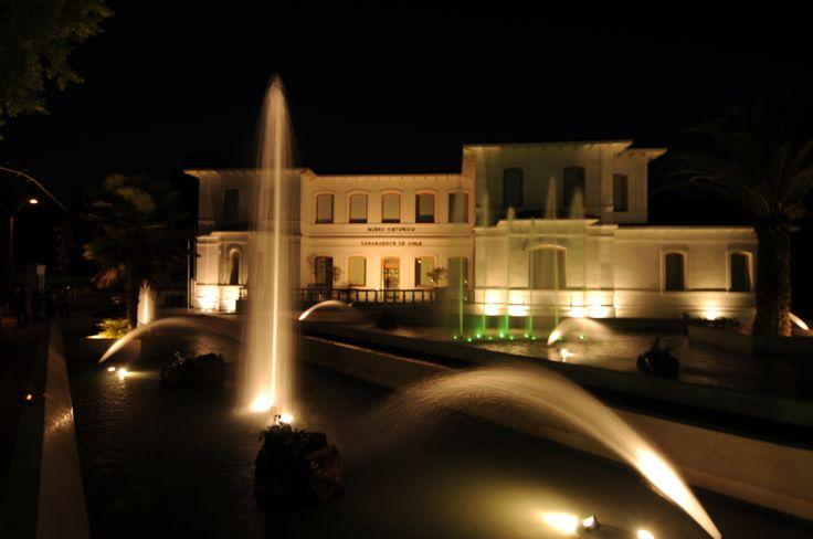 Imagen nocturna del MHC