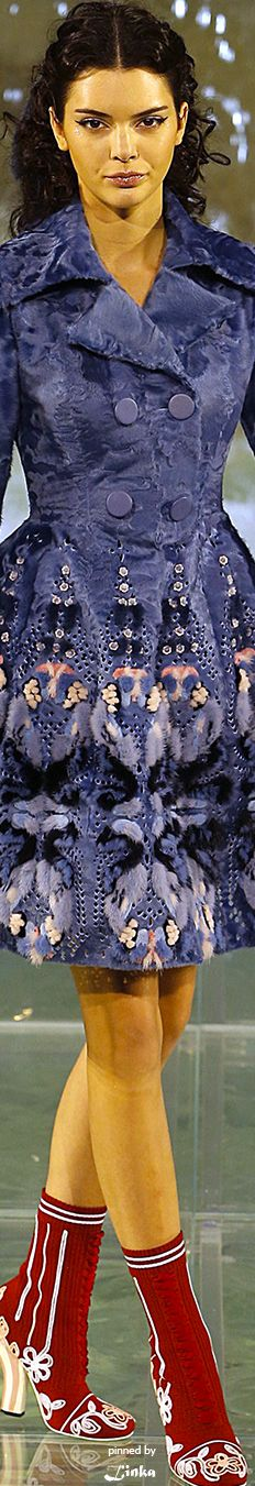 Fendi Fall Couture Collection 2016~pinned by Linka Crosby