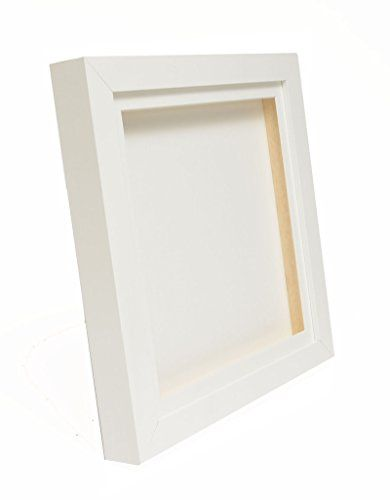 "White 3D Deep Box Picture Frame Display Memory Box For Medals Memorabilia Flowers etc (16x16"") Picture Framing Direct http://www.amazon.co.uk/dp/B00Y8AVU20/ref=cm_sw_r_pi_dp_RHGDvb01FFMJK"