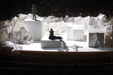 Don Giovanni set design by Frank Gehry: Architects, Set Design, Gehry S Set, Paper, Art, Google Search, John