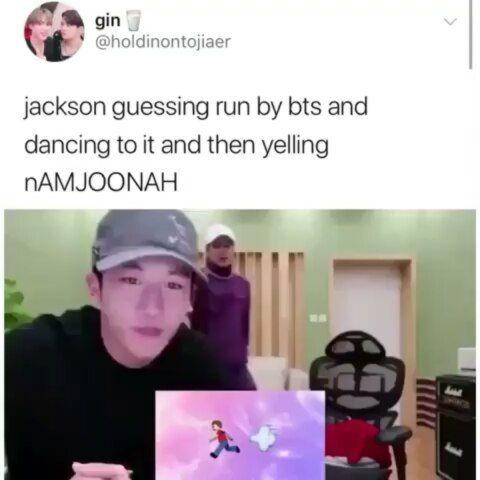 I love Jackson...and I love Namjoon...I love you guys ❤❤❤ •°