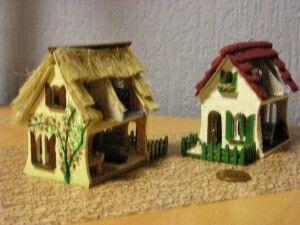 2 huisjes 1:144 zij aanzicht