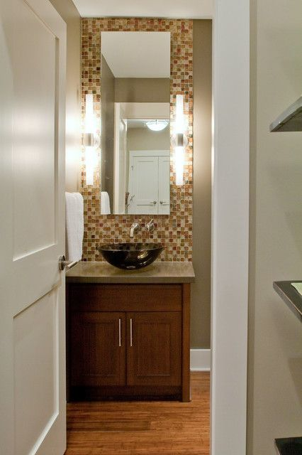 find this pin and more on powder room redo contemporary powder room design pictures
