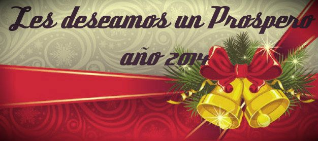 les deseamos a nuestros amigos y seguidores un muy Feliz año 2014, que este venga cargado de oportunidades , amor y alegría para todos!! Buon anno!!