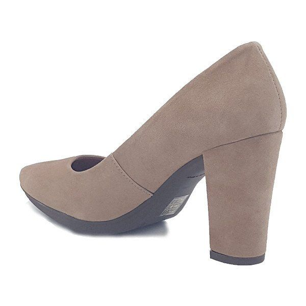 Zapato salón mujer tacón color maquillaje cómodo - Comfort women's shoes pump heel pale pink - miMaO Urban