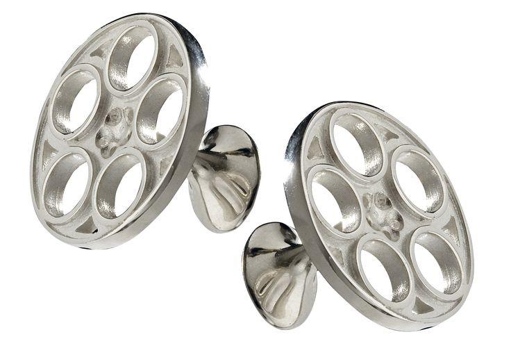 Alfa Romeo GTA wheels Cufflinks in 925 sterling #silver  www.huffyjewels.com