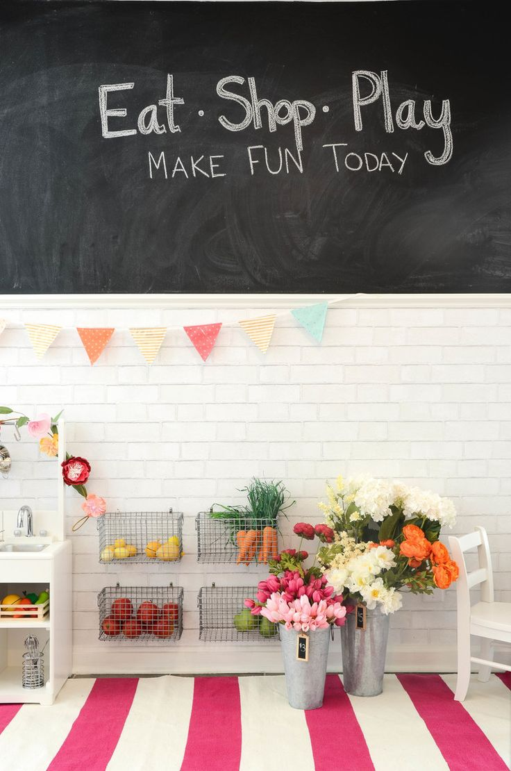 74 best Kids|Play Spaces|Kitchen images on Pinterest | Play kitchens ...