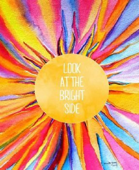 ☮ American Hippie Art Quotes ~ Sun .. Look at the bright side