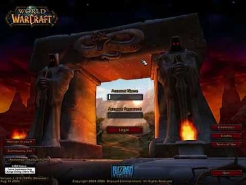 Login Screen Theme from Vanilla World of Warcraft (PC)