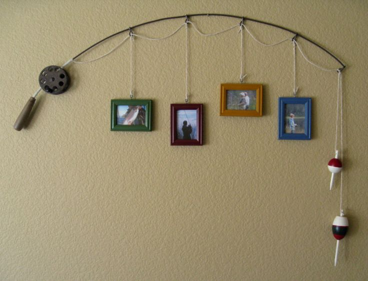 Use a fishing pole to display memorial photos. Memorial Service Ideas for the 13 Most Popular Hobbies