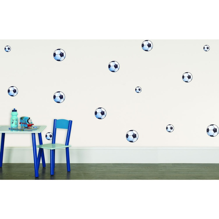 Football Wall Stickers   Cole's new bedroom ideas
