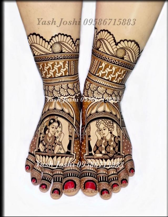 For this type of Exclusive Bridal mehndi art Contact bridal mehndi artist - Jyoti Chheda - Available Worldwide for Bridal Mehndi & Classes +919819352829 #portraitmehndi #Bridalmehndidesign #mehndidesign #Mehendiartist #hennadesign #mehendiartistmumbai