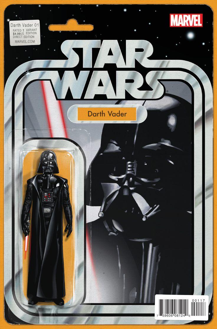 Marvel - Star Wars: Darth Vader #1 - Darth Vader Action Figure Variant Cover