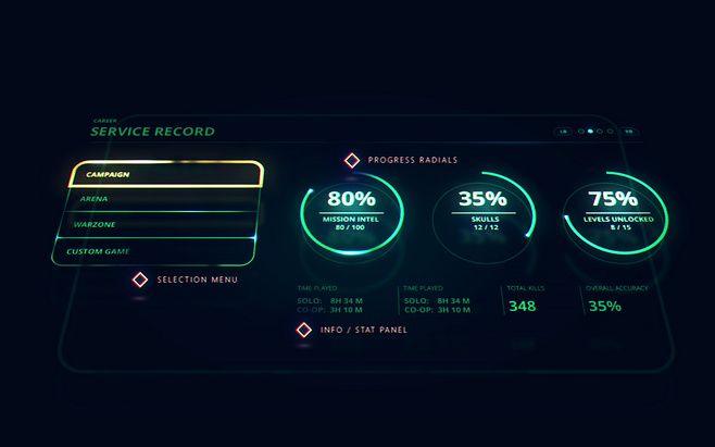 Halo 5 UI Concepts, ...