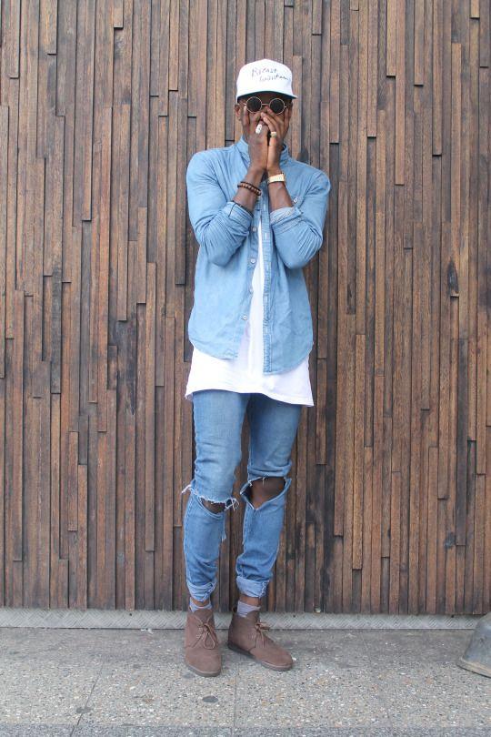 21 Savage Stars in Lookbook Modeling Virgil Ablohs Off