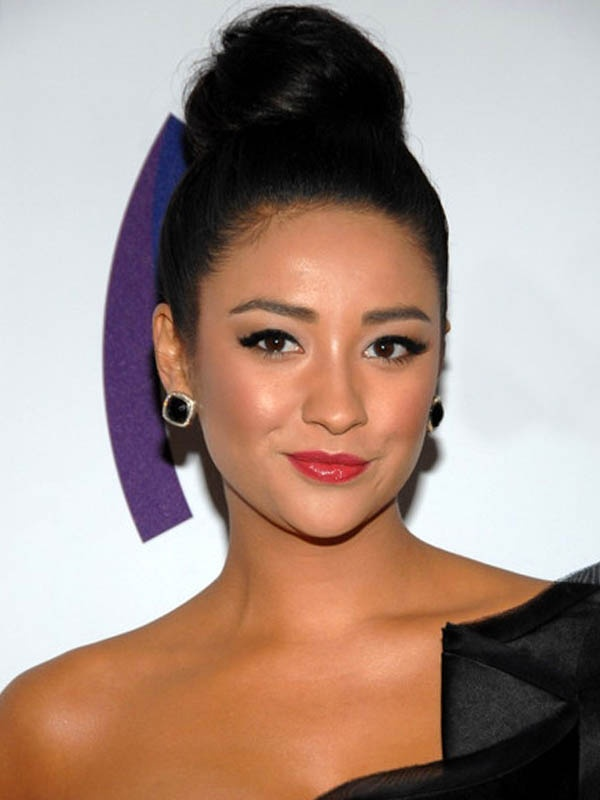 Shay Mitchell (never see her with her hair up)