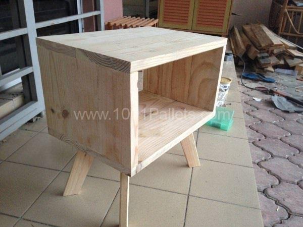 Bedside Pallet Table
