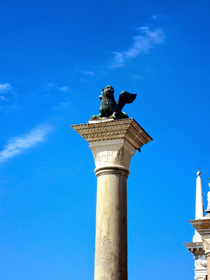 The Winged Lion of St. Mark http://destinationfiction.blogspot.ca/2014/10/dan-browns-inferno-more-venice-in-photos.html