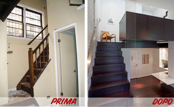 Prima & Dopo: la straordinaria ristrutturazione di un piccolo appartamento di 39 mq