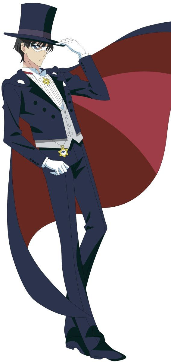 Tuxedo Mask from Sailor Moon Crystal