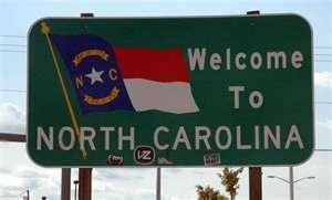 Welcome to North Carolina, land that we love www.centralfoothillsmommies.com