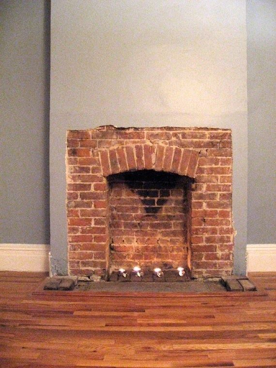 Exposed brick fireplaces and Brick fireplaces
