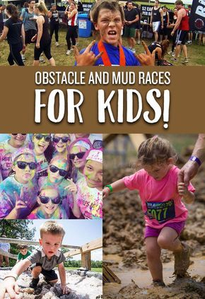 Make obstacle races a family activity by participating in these 8 races for kids