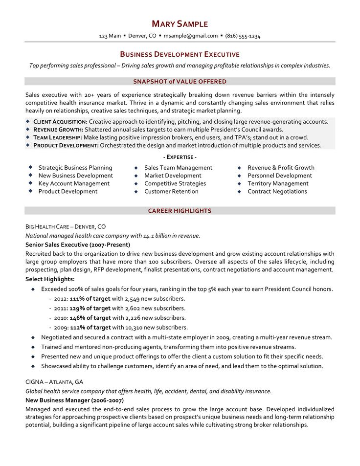 resume GF Design Pinterest