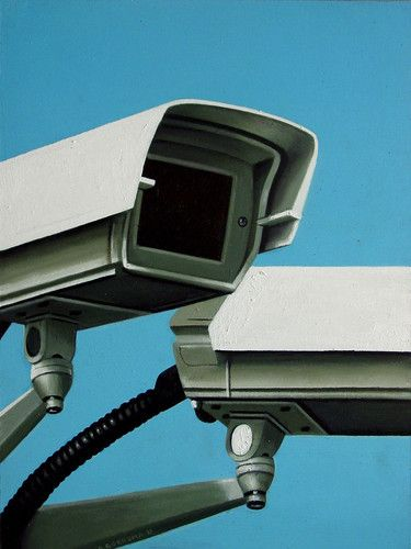 Security Camera Still Life And Acrylics On Pinterest