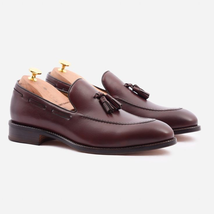 Bernard Tassel Loafer - Calfskin Leather - Bordeaux