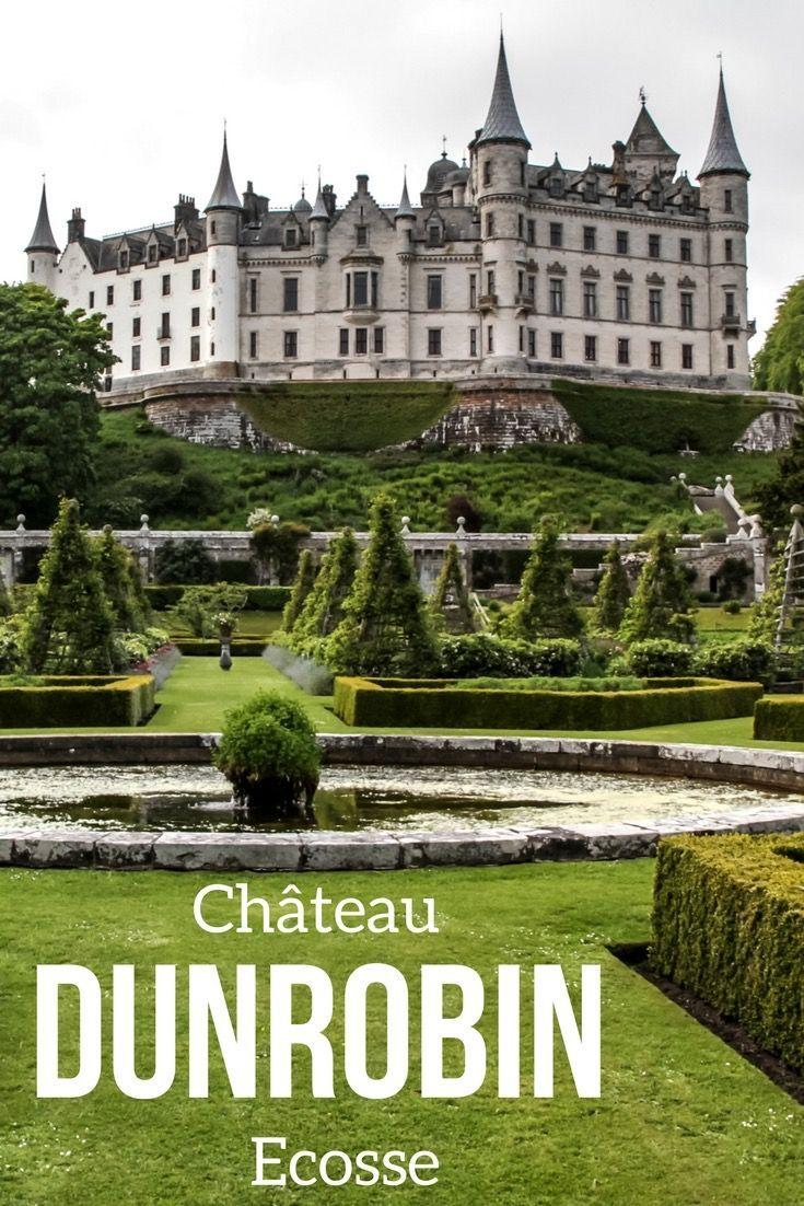 Voyage en Ecosse - Visite du magnifique Château de Dunrobin et de ses jardins - Photos, Vidéo et infos pratiques pour planifier votre visite   Ecosse voyage   Ecosse paysage   Voyage Ecosse   Ecosse Highlands