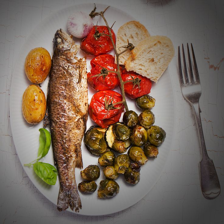 For crispy fish skin, rest the fish on paper towels skin-side down for a few minutes before cooking (the towels absorb moisture). Then sauté skin-side down over medium heat in oil and butter. Flip over for the last few minutes of cooking //Govind Armstrong