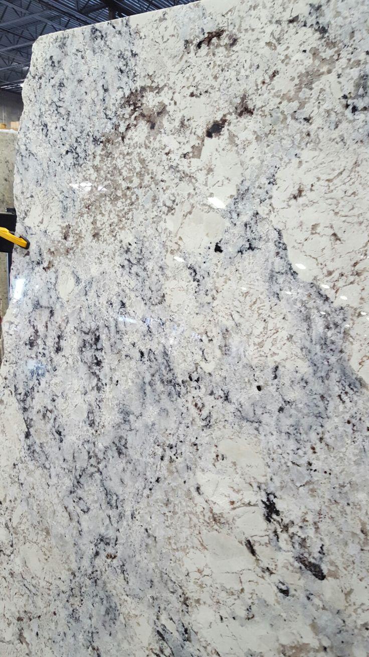 Our Slab White Ice Granite Granite Countertops Kitchen