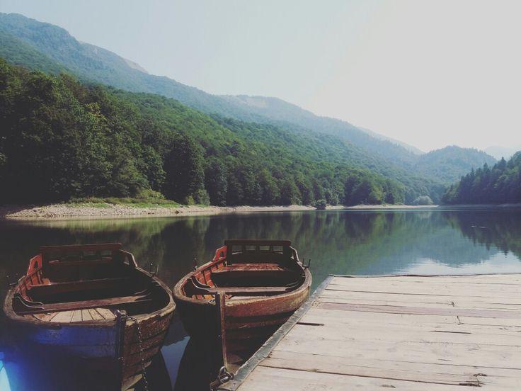 Lake Biograd in Montenegro