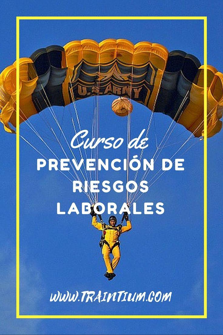 Curso de prevención de riesgos laborales #aprendecontraintium #traintium #cursosonline