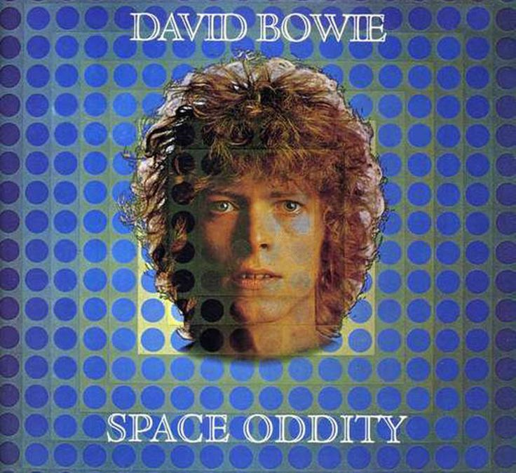 David Bowie - Space Oddity couverture