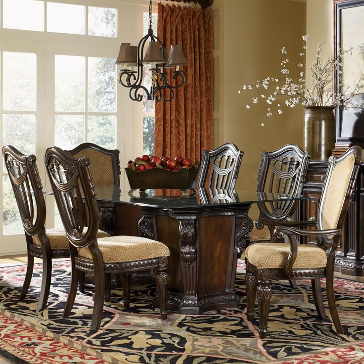 1000 Images About Dining Room Furniture On Pinterest Dining Sets Chairs And Lazy Susan