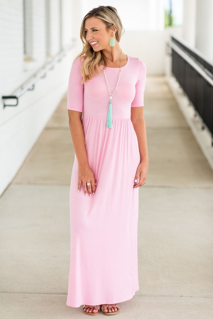 4141ece749c8 Pin by The Mint Julep Boutique on Maxi Dresses in 2019 | Dresses, Blush  pink dresses, Dress outfits