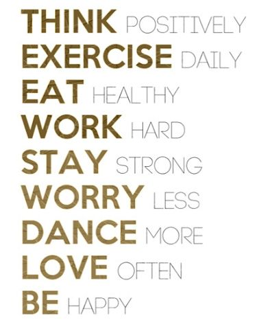 healthy life, simple guide :): Thinking Positive, Daily Reminder, Stay Strong, Happy, Life Mottos, Eating Healthy, Dance, Inspiration Quotes, New Years