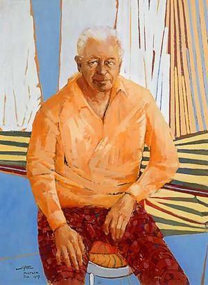 Clifton Pugh ~ Portrait of Harold Holt, 1967