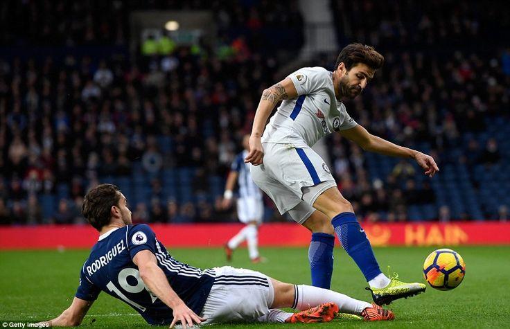 Cesc Fàbregas & Jay Rodriguez: West Brom 0-4 Chelsea, 18 Nov 17