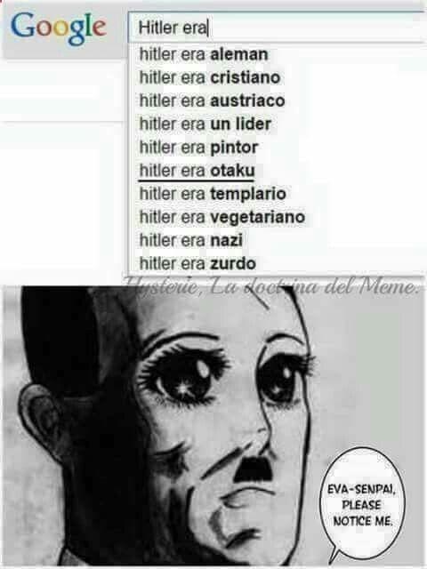 XD Hitler si q sabe